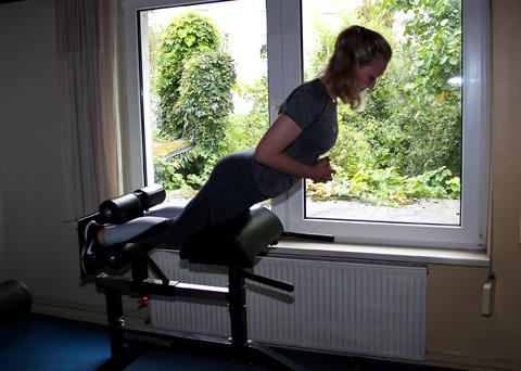 Beinbeuger trainieren